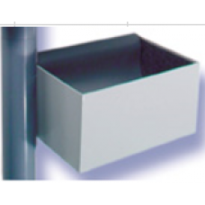 İstasyon Alt Sepeti ve yastık, 110mm-Steel Box
